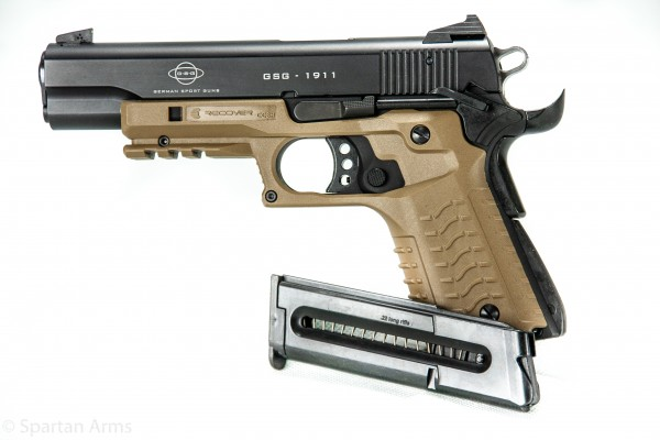 GSG1911 Standard mit Recover Tactical Griff