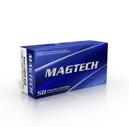 MAGTECH 9mm Luger Subsonic 147grs Ultraschall