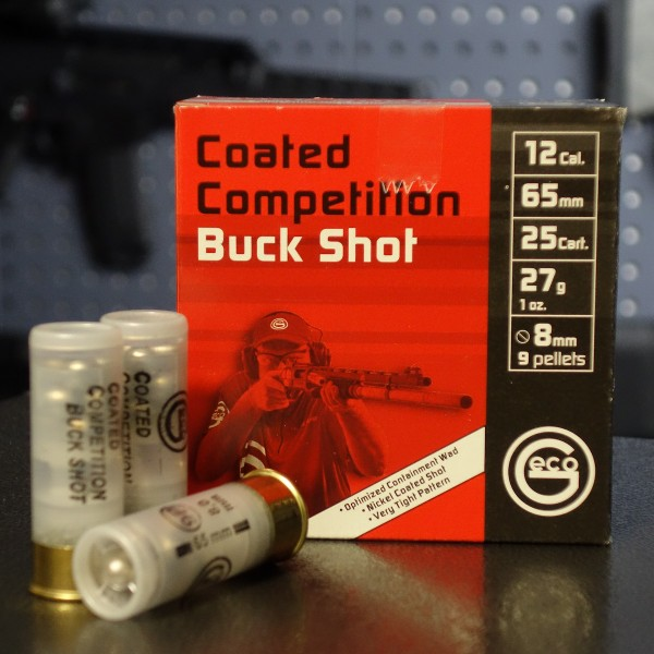 GECO Coated Competition Buck Shot 27g