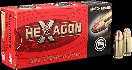 GECO 9mm Luger Hexagon SX 8,0 g 124 grs